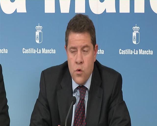 Declaraciones del presidente de CLM. Financiación