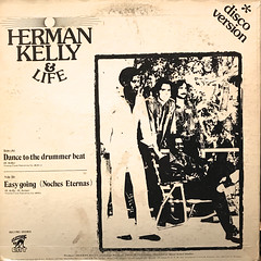 HERMAN KELLY & LIFE:DANCE TO THE DRUMMER BEAT(JACKET B)