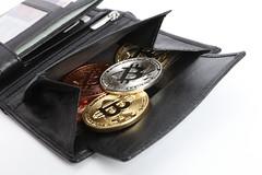 Bitcoin in Portemonnaie