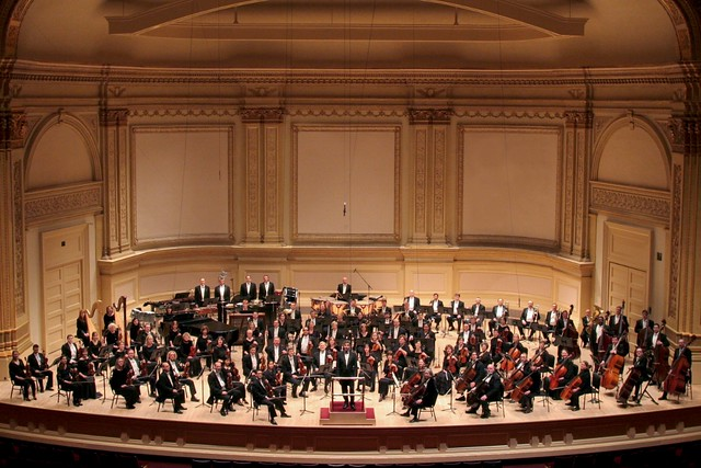 Grand Rapids Symphony in Carnegie Hall 2005