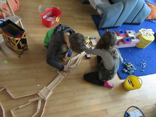Marble run construction