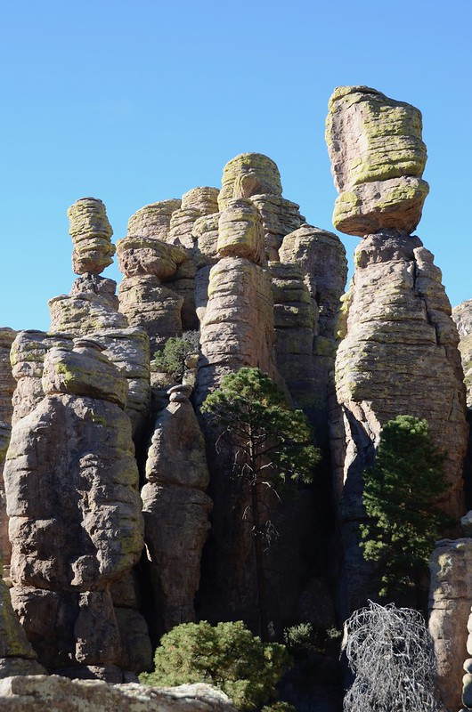 Chiricahua National Monument the hoodoo balancing act