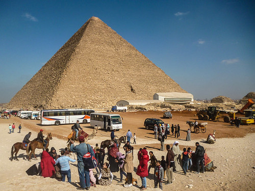 a pyramid of giza