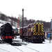 Cheddleton Railway Station in the snow on the Churnet Valley Railway