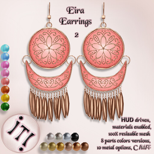 !IT! - Eira Earrings 2 Image - TeleportHub.com Live!