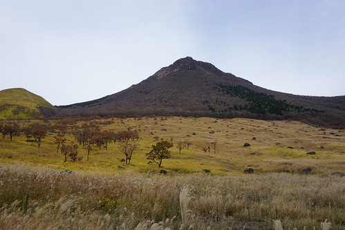 九州の山は荘厳な感じでよい。南アルプスとはまた違った荘厳さ