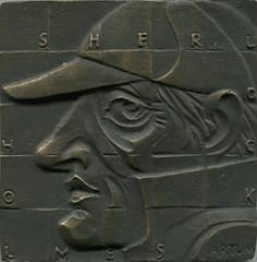 1990 Shagin Sherlock Holmes Medal Obverse