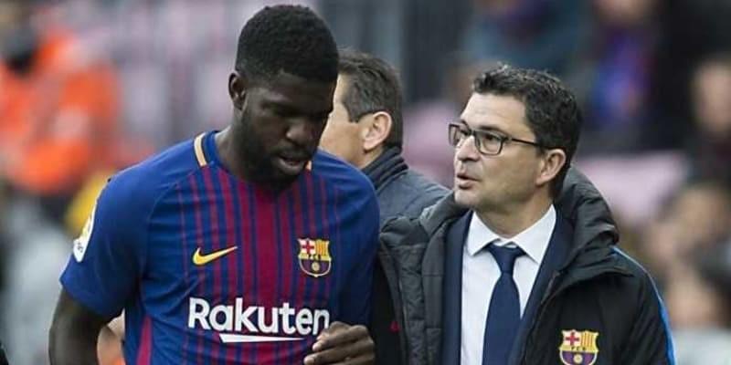 Barcelona Tertahan, Ernesto Valverde Salahkan Samuel Umtiti