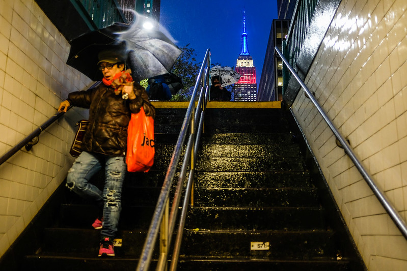 Walk In New York - NYC 2017 - Subway - Empire State Building
