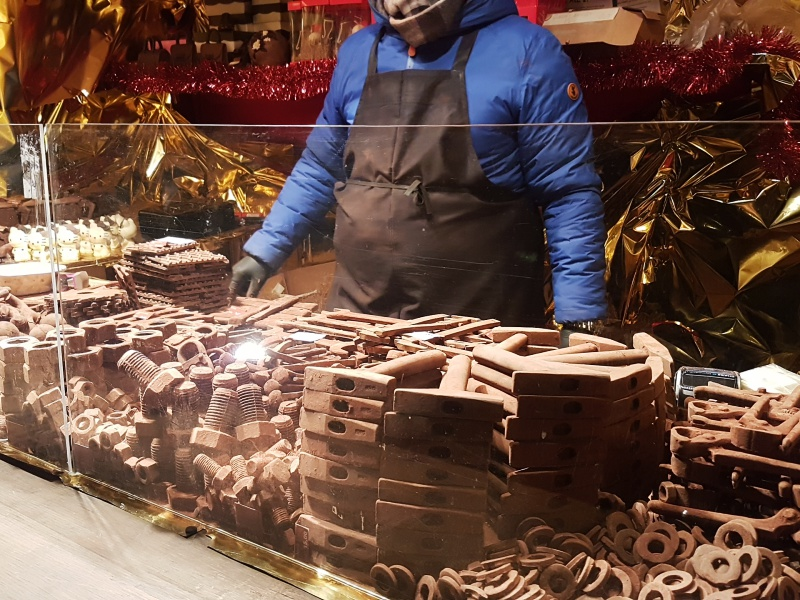 Toronto Christmas Market chocolate