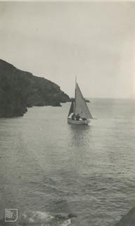 Peter Conder's 'Sea Swallow' off north Skokholm, 1953