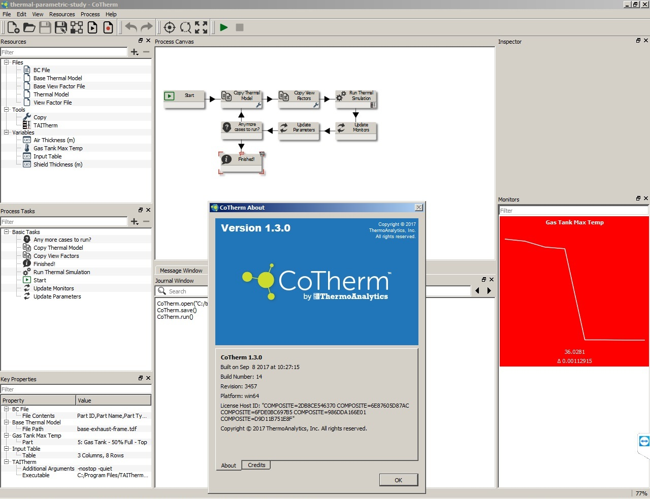 Working with ThermoAnalytics CoTherm 1.3.0 full license