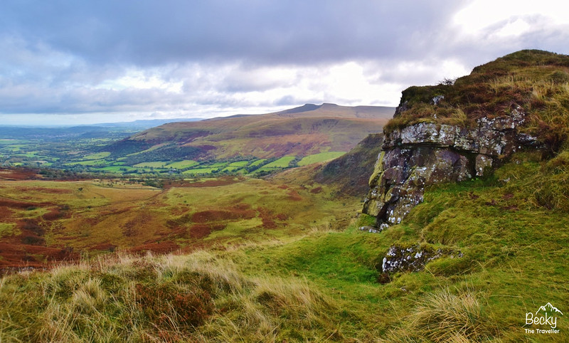 Brecon Beacons National Park Wales - best walks - Craig Cerrig-gleisiad