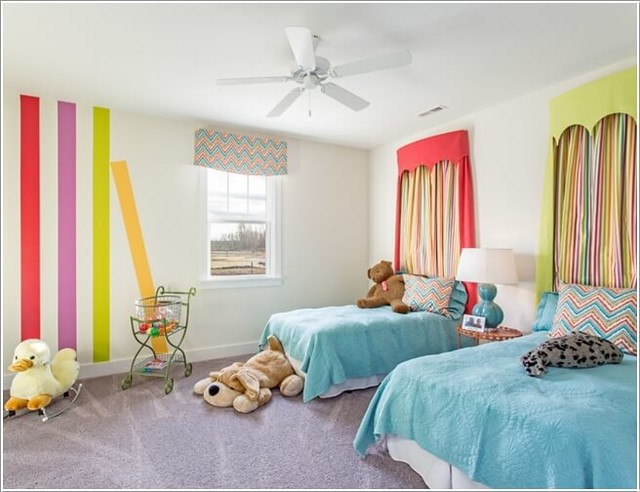 Fun and Cheerful Multicolor Kids' Room Decor Ideas