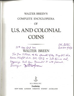 Breen encyclopedia book signed