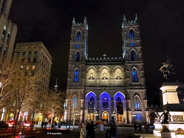 Montreal - La Basilica di Notre-Dame