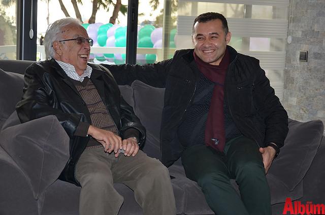 Özdemir Salman, Alanya Belediye Başkanı Adem Murat Yücel