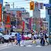 2. Asfalto de Toronto con el ajetreo de sus calles