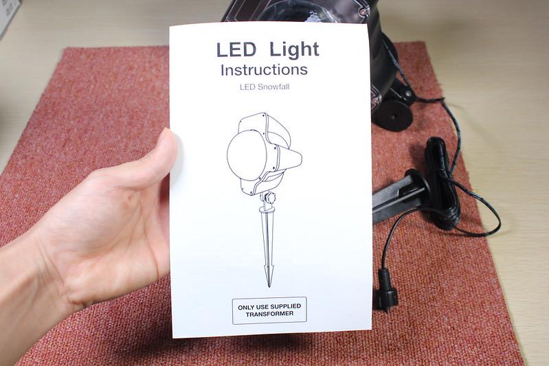 dodocool LED投影ランプ (6)