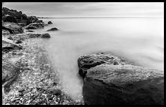 Rocks at High Tide on East Beach, Shoeburyness