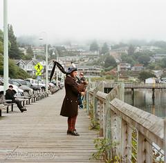 A Piper in Newport