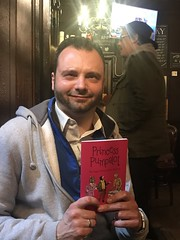 Mon, 11/13/2017 - 15:27 - It's Phil with a copy of the new book. The photo was taken somewhere in the Old Town of Edinburgh. #Fart2017