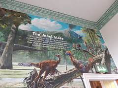Dino murals
