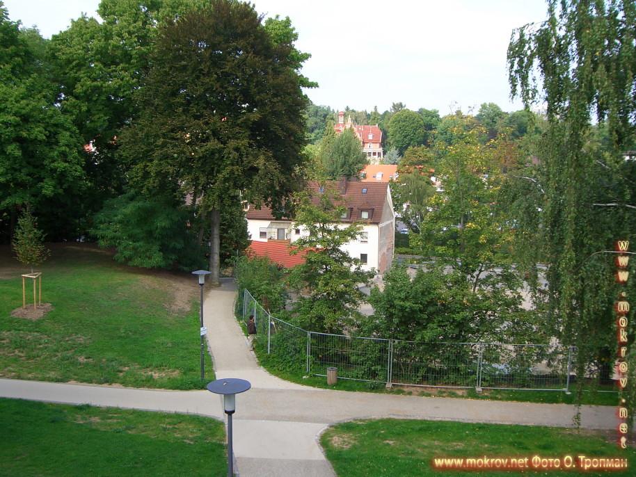 Город Швайнфурт прогулки туристов