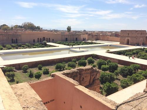 エルバディ宮殿 サアード朝の王が25年かけ作らせた。 でかい
