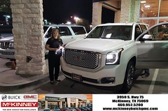 #HappyBirthday to Irma  from Mr. Yomi at McKinney Buick GMC!