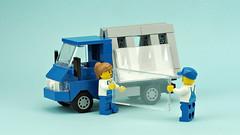 Glass Carrier Truck