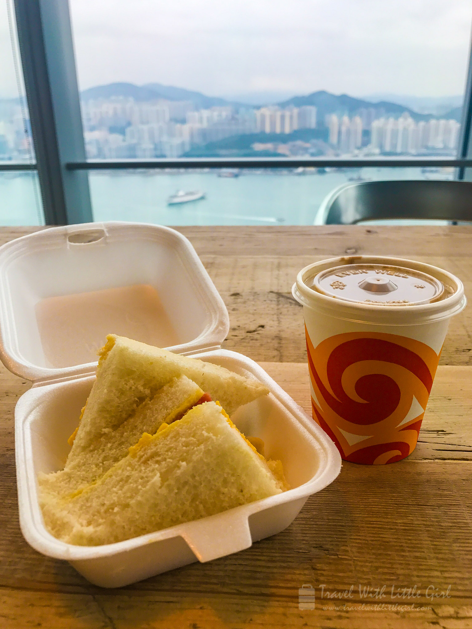 龍鳳冰室 早餐 Lung Fung Cafe takeaway breakfast