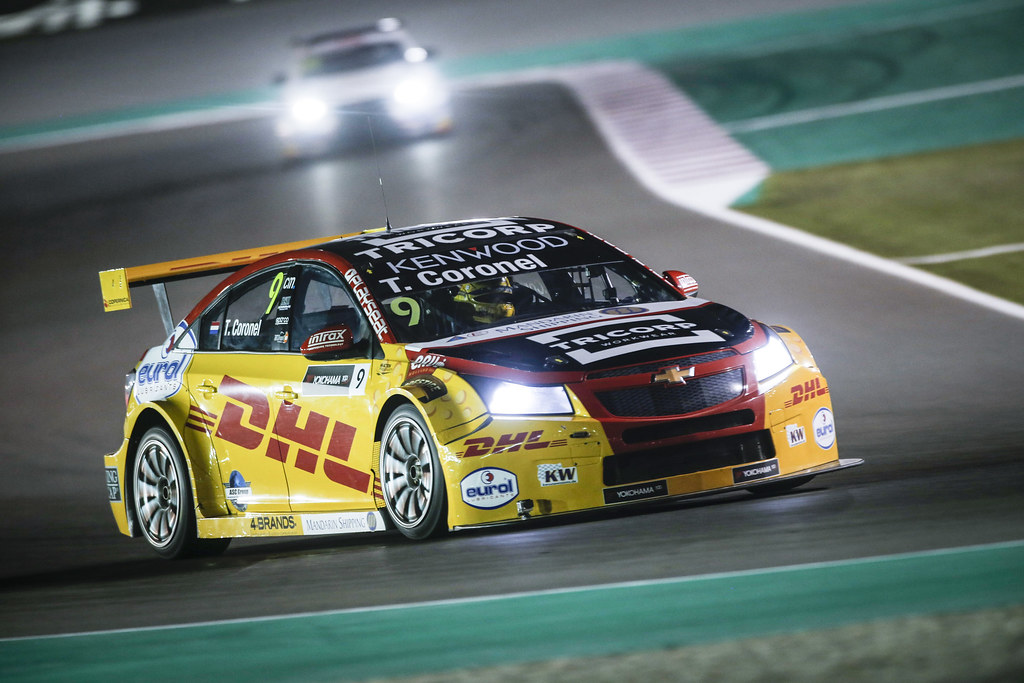 09 CORONEL Tom, (ned,) Chevrolet RML Cruze team ROAL Motorsport, action during the 2017 FIA WTCC World Touring Car Championship race at Losail  from November 29 to december 01, Qatar - Photo Francois Flamand / DPPI