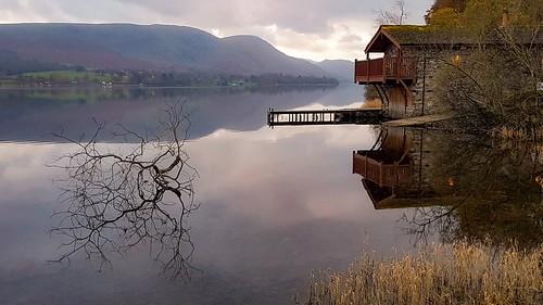 thelakedistrict cumbria lake sunrise boathouse uk