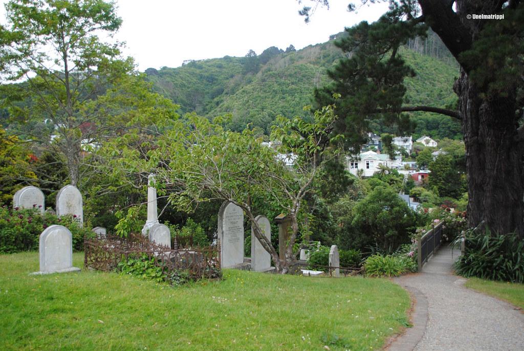 Vanha hautausmaa Wellingtonissa, Uusi-Seelanti