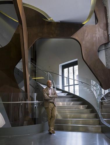 Retrato de Norman Foster