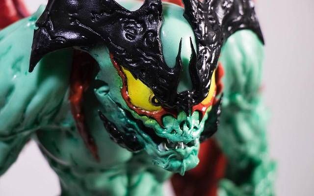 """期待已久的軟膠傑作終於公開!Unbox Industries - """"惡魔人 Devilman"""" by Mike Sutfin"""