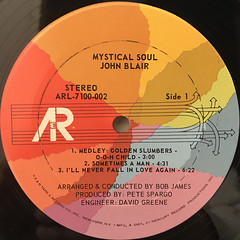 JOHN BLAIR:MYSTICAL SOUL(LABEL SIDE-A)