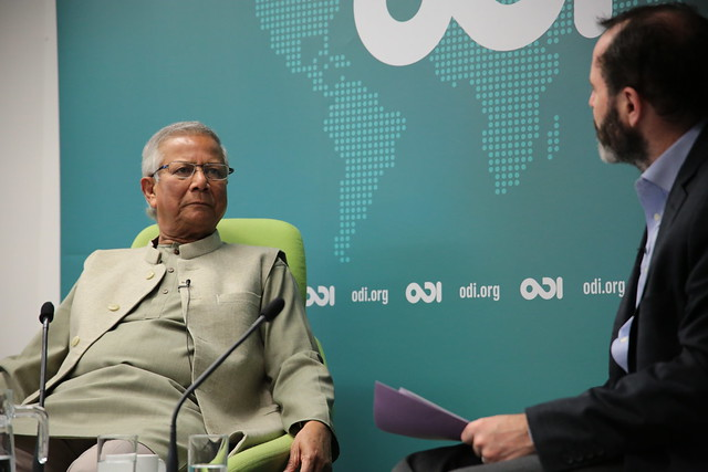 ODI in conversation with Muhammad Yunus