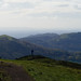 Malvern Hills views: looking along the ridge