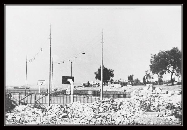 Γήπεδο Φοίνικα, Πειραϊκή. Φωτογραφία: Γεώργιος Παν. Μπακούρος – Δωρίων.