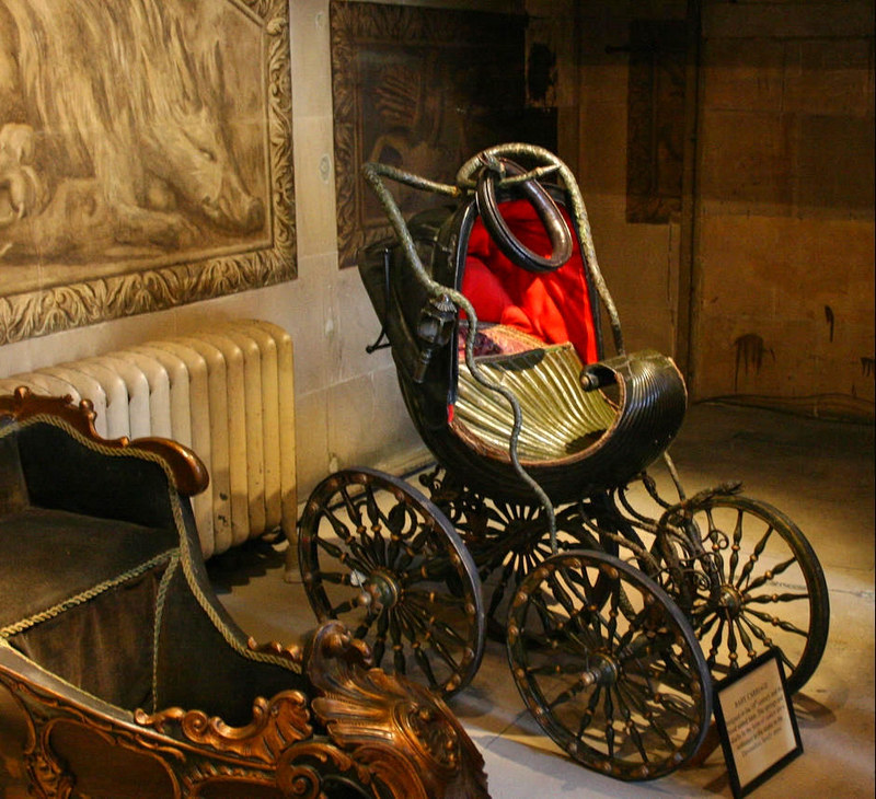 William Kent's Baby Carriage, c. 1733. Credit Studiolum