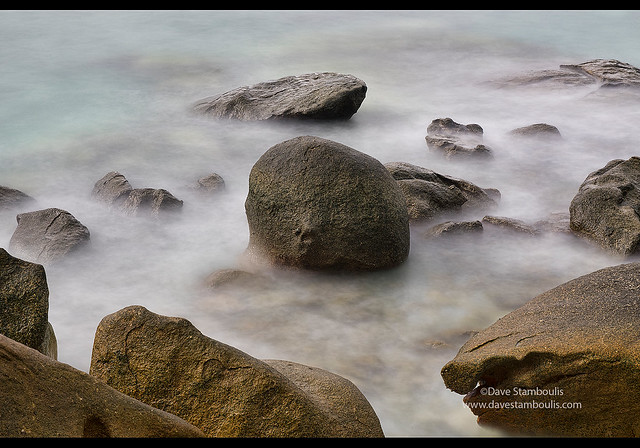 Long exposure at high tide, Mergui Archipelago, Myanmar