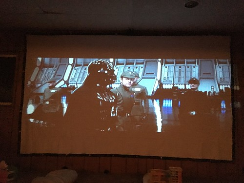 Inaugural Basement Theater Viewing of Return of the Jedi