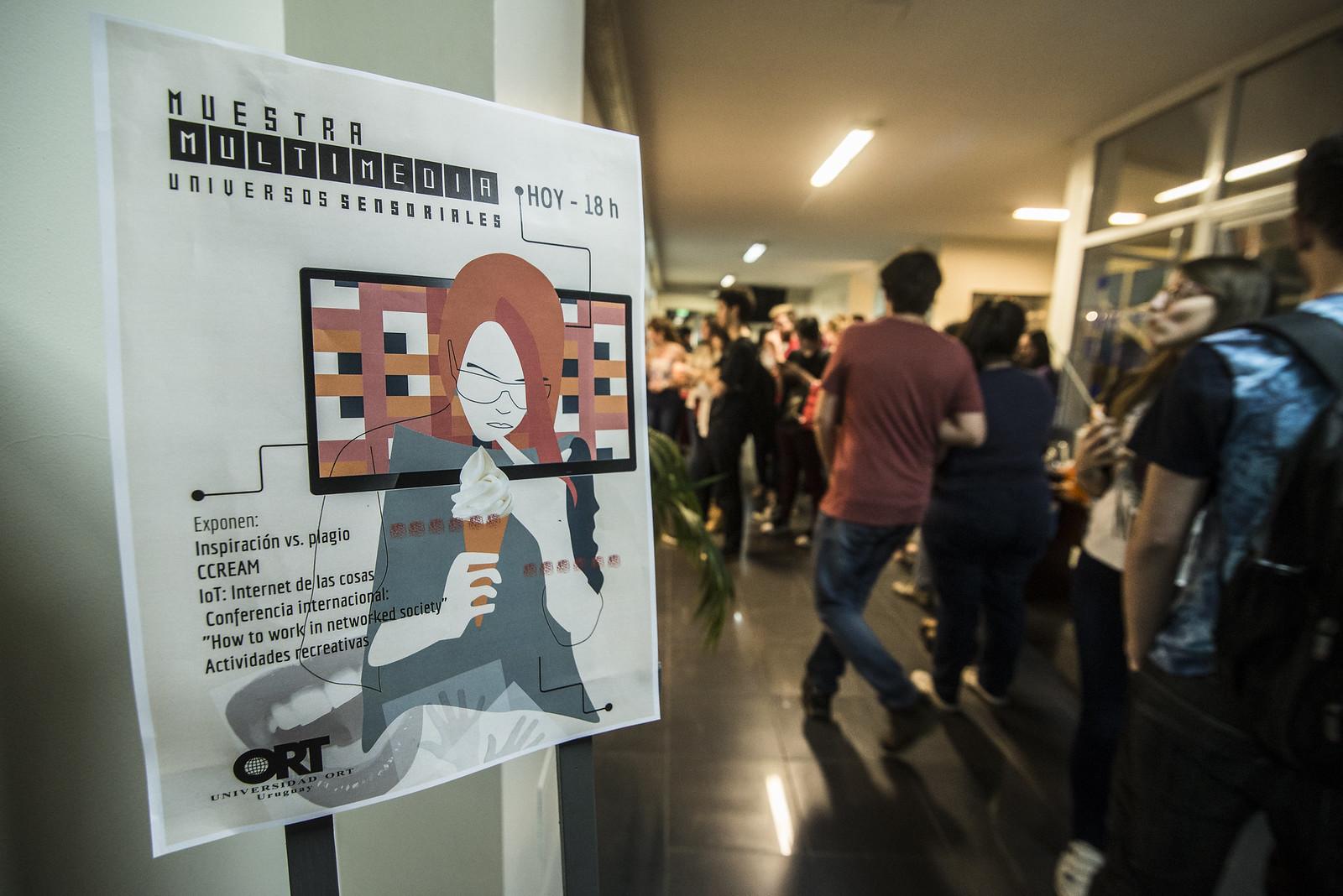 """Muestra Multimedia """"Universos sensoriales"""" - noviembre 2017"""