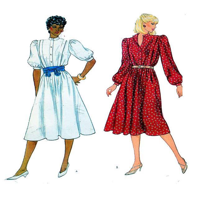 Vogue 8226 day dress pattern