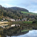 The River Wye at Tintern, Monmouthshire, Wales