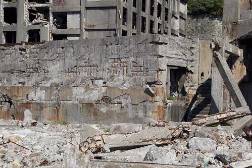 Ruins on Hashima