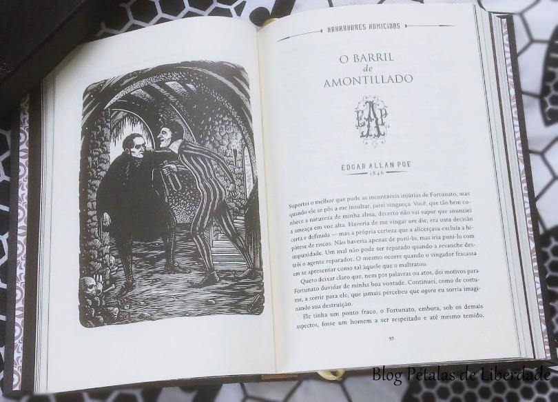 O barril de amontillado, Edgar Allan Poe, ilustração
