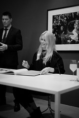 Book signing with Claudia Schiffer